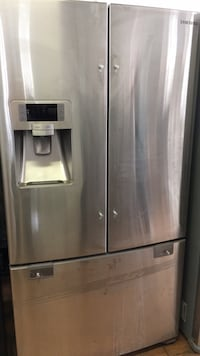 Stainless steel french door refrigerator Norwalk, 90650