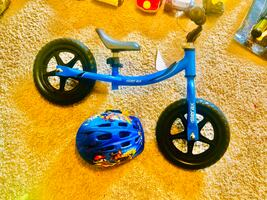Kids balancing cycle . Almost new . I have box also