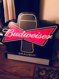 black and red Budweiser neon signage Owensboro, 42301