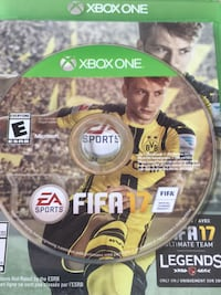 FIFA 17 Xbox One game disc Burnaby, V5G