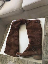 Over the Knee Suede boots San Bruno, 94066