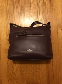 Wine/purple/Maroon Kate Spade Purse 21 mi