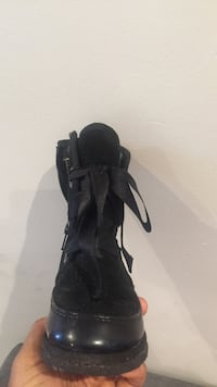 Black high-top winter boots for toddler Edmonton, T5G 1N5