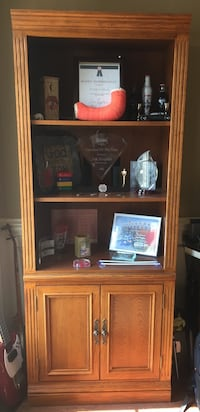 BroyHill Oak Book/Display Case Maumelle, 72113