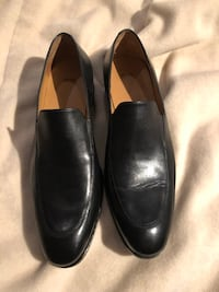 Hugo Boss black leather dress shoes sz 11 Burnaby, V5G 3X4