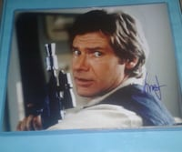 Harrison Ford Hand Signed Authentic Photo 2066 mi
