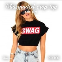 Swag crop top Oslo, 0284
