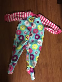 3c310b2717 toddler s multicolored pajama set