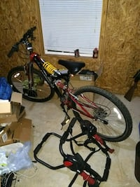 26 inch Huffy Mountain bike with bike rack/lock Villa Rica, 30180
