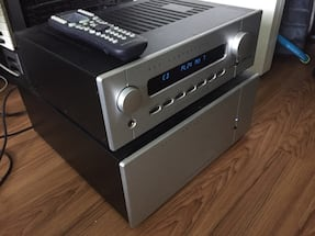 B&K reference 50 s2 preamplifier and 200.7 s2 power amplifier