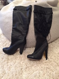 Size 8. Bebe leather boots  Toronto, M2N 2K7
