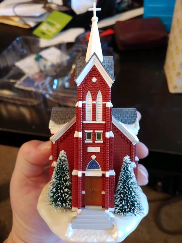 "Hallmark Keepsake: ""Central Tower Church""  3"