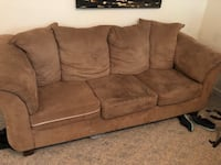 Couch and loveseat NEED GONE 7/15! DIRTY BUT IN GOOD CONDITION!!!  Hampton, 23663