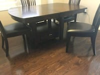Brand new 4 chairs and table Milton, L9T 2J1