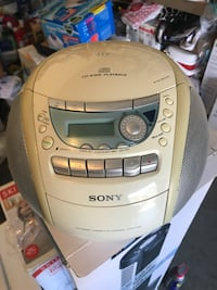 Sony CD and cassette player Fremont, 94536