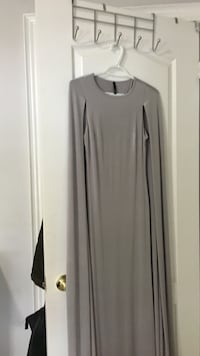 Grey cape dress, size S/M Vaughan, L4H 0X9
