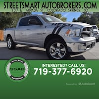 2016 Ram 1500 Big Horn Colorado Springs, 80905