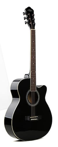 Acoustic guitar for beginners, Students 40 inch black Brand new