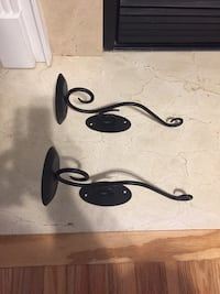 two black wall-mount candle holders Winchester, 22602