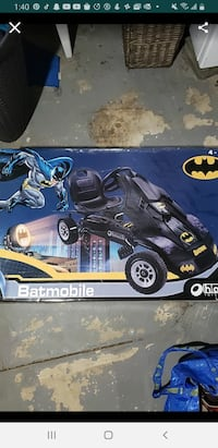 Batmobile for kids 4-8 years old