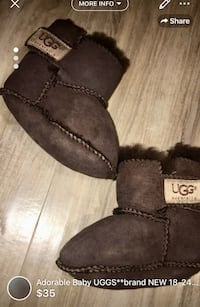 Adorable Baby UGGS**brand NEW 18-24 months-retail 75$