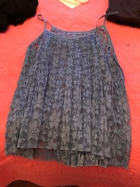 Women's gray and black floral skirt Mississauga, L5N 6X6