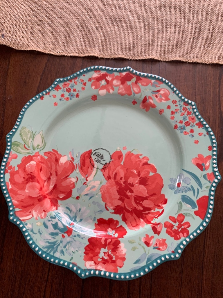 Photo Pioneer woman dinner plates