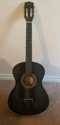 black and brown classical guitar Los Angeles, 90039