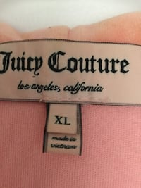 Juicy Couture xl.Negotiable price. Vancouver, V6G
