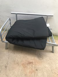 black and gray camping chair Bayonne, 07002