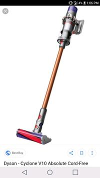 Dyson cyclonev10 absolute cordless vacuum sealed  San Francisco, 94103