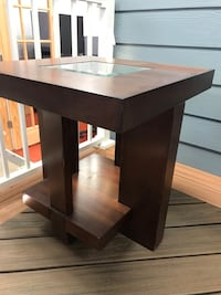 black wooden single pedestal desk Warrenton, 20187