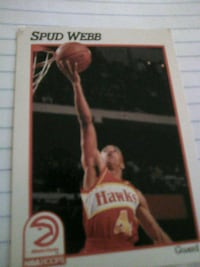 NBA LEGEND Spud Webbcard Washington