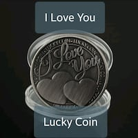 I Love You Lucky Coin Great Mills, 20634