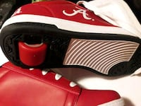 red and white Nike Air Jordan 1 shoe Arlington, 22204