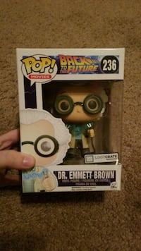 Dr. Emmet Brown Funko Pop