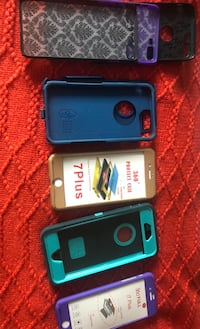 two blue and black iPhone cases Barrie, L4M 1L9