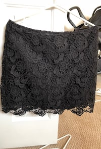 Black lace skirt Calgary, T2Z 4S4