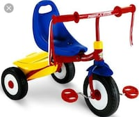 red, blue, and yellow pedestal trike Annandale, 22003