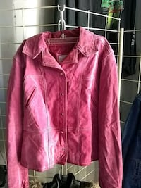Wilson Pink Leather jacket Beulaville, 28518