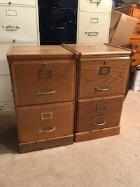 Filing Cabinets, Two Drawer