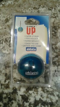 blue UP paper stand with packaging  Barrie