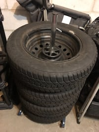 2013 toyota matrix winter tires in rims  BURLINGTON