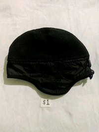 New Black Adjustable Gap Fleece Hat Small Mississauga, L5M 4S9