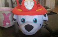 white and red dalmatian Easter basket Corona, 92880