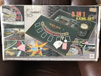 3-in-1 Casino Set NEW Aldie, 20105