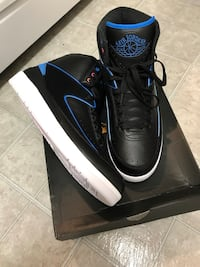 Black-and-blue Air Jordan 2 shoes Silver Spring, 20910