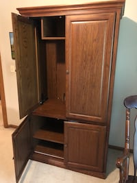 Brown wooden cabinet with shelf Colwich, 67030