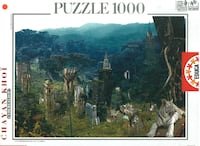 PUZZLE 1000 EDUCA - Jungle White Tiger - 10590 - Chayan Khoi - Cyberealism Taranto