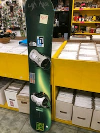 Snowboard Lamar 151cm with bindings $60 Vancouver, V5T 1X9